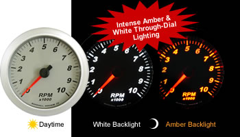 SCX Amber/White Through Dial LED Lighting