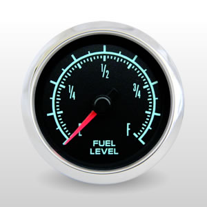 Fuel Level, Programmable.  60s Muscle - 1969 Camaro Style Performance Gauge