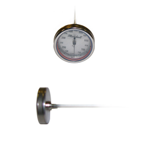 1.5 in. Dial Bimetal Thermometer from Marshall Instruments