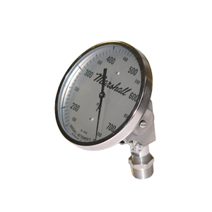 Adjustable Angle Thermometer.  3 inch Dial