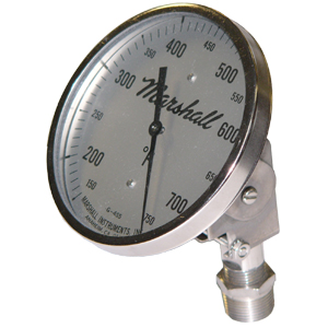 5 in. Adjustable Bimetal Thermometer from Marshall Instruments