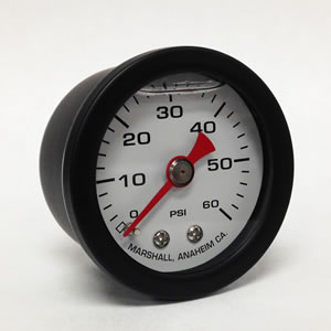 CWB 0-60 PSI Liquid Filled Mechanical Gauges from Marshall Instruments