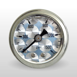 ET 0-1500 PSI Liquid Filled Mechanical Gauges from Marshall Instruments