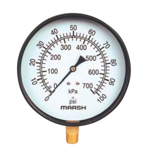 General Service Marsh Pressure Gauges from MARSH