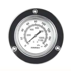 Severe Service 63MM Marsh Pressure Gauges from MARSH