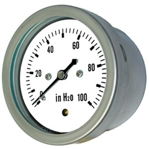 LP2-SS Low Pressure All Stainless Diaphragm Pressure Gauge