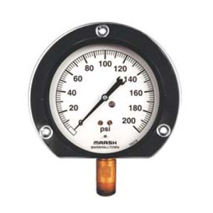 Precision Service - Quality Gauge Marsh Pressure Gauges from MARSH