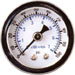 White Dual Scale Fuel Gage